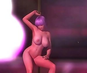 Ayane Pole Dancing 41 sec HD