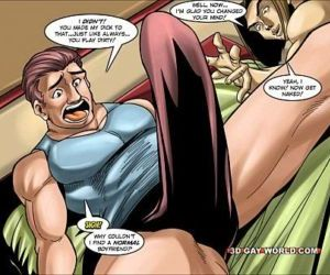 Flamboyant 4 Gay Superhero..