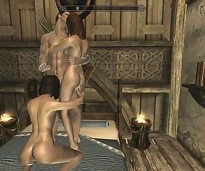 Skyrim: Hook-up With My Wife..