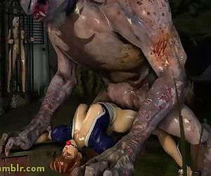 Kasumi Pounded by a Fiend