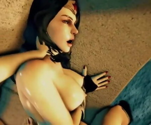 Wonder Lady used and fucked..