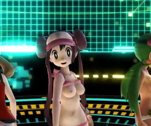 MMD Pokemon Girls Being..