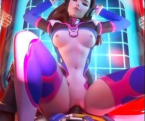D.Va Gets Pounded by Lucio