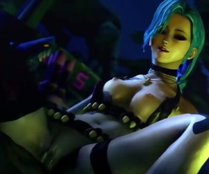 SFM League of Legends - Jinx..