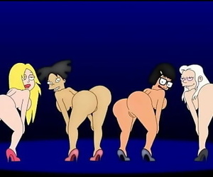 Twerking Cartoon Bitches 86..